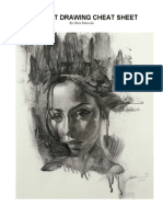 Portrait Drawing Cheat Sheet