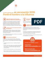 Alerta HSE influenza