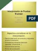 Catedra-Interpretación de Pruebas Wechsler 2017 [Modo de compatibilidad]