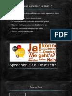 Deutsch A1 Iniciantes Terca, Licao 1.pptx
