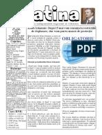 Datina - 24.04.2020 - prima pagină