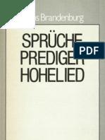 Das lebendige Wort - Band 15 - Sprüche, Prediger, Hohelied