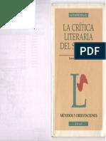 Crítica Literaria REDONDO