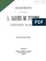 Manifiesto de Iturbide