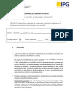 clase 4 CONTROL DE LECTURA PRACTICA II
