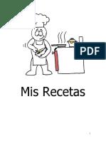 Mis Recetas