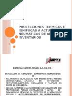 PROTEC EN ACTUADORES EN CASO DE FUEGO