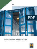 Sidefoldeporte i aluminium (tysk)