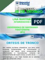 ORTESIS DE TRONCO