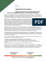 Comunicado de Prensa 2