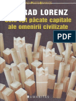 Cele opt păcate capitale ale omenirii civilizate - Konrad Lorenz