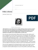 Police reforms - Newspaper - DAWN.COM