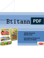 Britannia Marketing Analysis