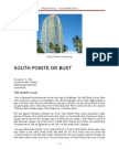 South Pointe or Bust by David Arthur Walters