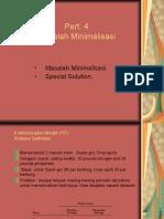 Pert.4  Minimization Model.ppt
