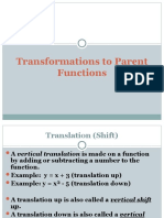 PFTransformations with notes
