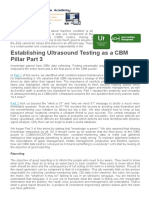 Establishing Ultrasound Testing as a CBM Pillar Part 3 - Reliabilityweb_ A Culture of Reliability