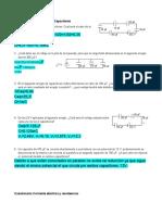 Cuestionario de series de capacitores