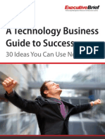 A Technology Business Guide to Success