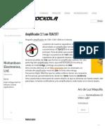 Amplificador 2.1 con TDA7377