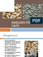 Análisis Físico de Café