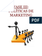 Fase III Politicas de Marketing