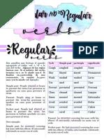 regulars and irregulars verbs