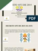DECRETO 1072 DE 2015 (