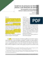 Pedro, Joana - A emergência da pesquisa da História das Mulheres e das Relações de Gênero.pdf