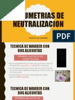 VOLUMETRIAS DE NEUTRALIZACION