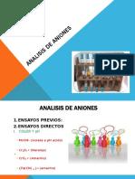 ANALISIS DE ANIONES