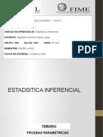 Tarea #1 Estadistica inferencial