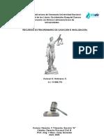 RECURSOS EXTRAORDINARIO DE CASACIÓN E INVALIDACIÓN. (1)