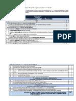 Rúbrica de calificación del desarrollo e implementación del