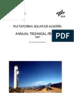 Plataforma Solar de Almeria - Annual Report 1997