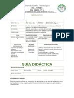 GUIA DIDACTICA EDUCACION A DISTANCIA - BILL GATES grado 1ª