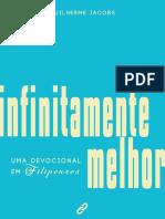 INFINITAMENTE MELHOR - Uma Devocional Em Filipenses (Guilherme Jacobs)