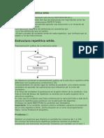 Estructura repetitiva while-for-Comentarios