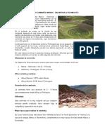 CAMINATA MARAS - SALINERAS & PICHINGOTO
