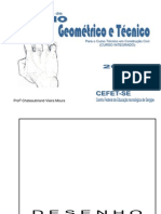 Apostila de Desenho - Curso Construção Civil - INTEGRADO - 2007 - Aluno - 148 páginas