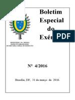 bee 4-16- relação das publicações do exército.