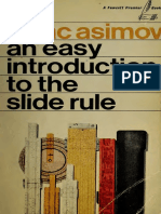 Easy Introduction to the Slide Rule_Asimov