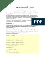 Biblioteca estándar de Python.pdf