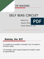 self bias