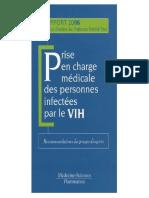 Prise en charge medicale des personnes infectees par le VIH _ Recommandations du groupe d'experts