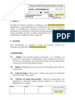PRG-SST-003 Programa de Prevención de Riesgo Psicosocial