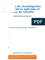 Sesión 16 - Problemas de investigación cuantitativa