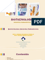 BIOTECNOLOGIA FARMACEUTICA