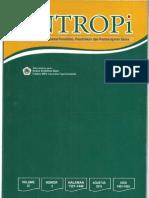 Weny-Musa-JURNAL-ENTROPI-Isolasi-dan-Karakterisasi-Senyawa-Aktif-Repellent-Nyamuk-dari-Ekstrak-Rimpang-Jeringau-Acorus-calammus