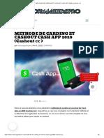 METHODE DE CARDING ET CASHOUT CASH APP 2020 (Cashout cc ).pdf